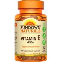 Vitamin E 400 / 180mg Sundown Naturals