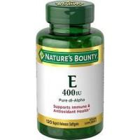 Vitamin E-400 IU Nature's Bounty