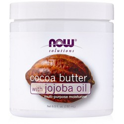NOW Cocoa Butter with Jojoba Oil
