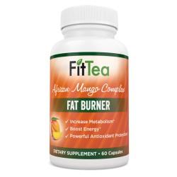 FitTea  African Mango Complex Fat Burner 60 Capsules