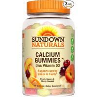 Sundown Naturals Calcium Plus Vitamin D3 Gummies