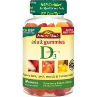 Nature Made Adult Gummies Vitamin D3