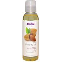 Now, Sweet Almond Oil, 4 fl oz (118 ml)
