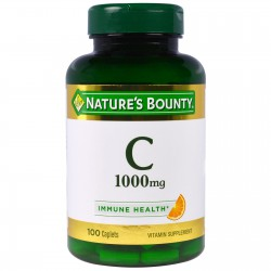 Nature's Bounty Vitamin C 1000 mg 100 Capsules