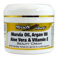 Marula oil, argan oil, aloe vera & vitamin E beauty cream