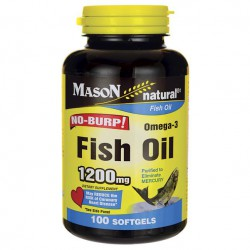 Fish oil omega 3 - 1200 mg 100 softgel