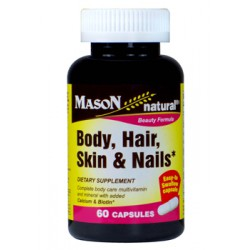 Body, hair, skin & nails 60 capsules