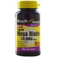 Biotin 800 mcg 60 tablets