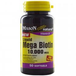 Biotin 10.000 mcg 60 tablets