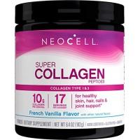 Neocell Super Collagen Vanilla Type 1 & 3, 7 oz (198 g)