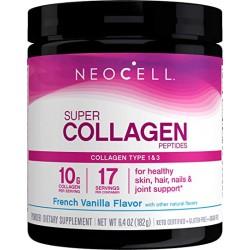 Neocell Super Collagen Fresh Vanilla flavor Type 1 & 3, 7 oz (198 g)