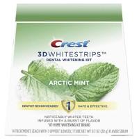 Crest 3DWhitestrips Bandes de blanchiment des dents aromatisées - Arctic Mint