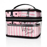 Ensemble de sacs Victoria Secret pour voyage cosmétiques en PVC