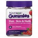 Natrol gummies hair skin & nail