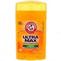 Arm & Hammer Ultra max déodorant powder solid Fresh