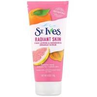 St. Ives, Radiant Skin, Pink Lemon & Mandarin Orange Scrub