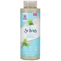 St. Ives, Exfoliating Body Wash, Sea Salt & Pacific Kelp