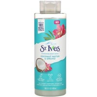 St. Ives, Hydrating Body Wash, Coconut Water & Orchid
