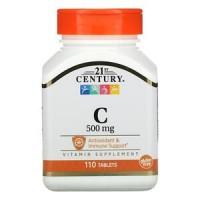 21st Century Vitamin C 500 mg 110 comprimés
