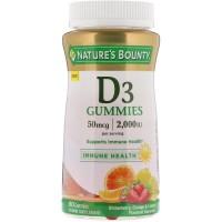Nature's Bounty, Gommes à la vitamine D3